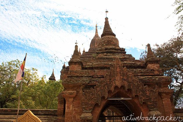 Myanmar Flag Bagan