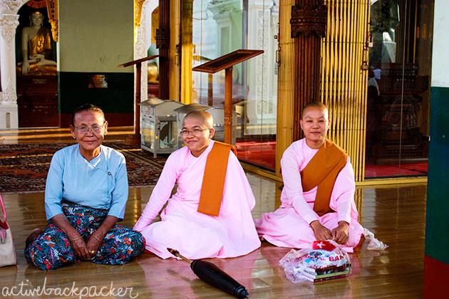 Nuns in Myanmar (Burma)