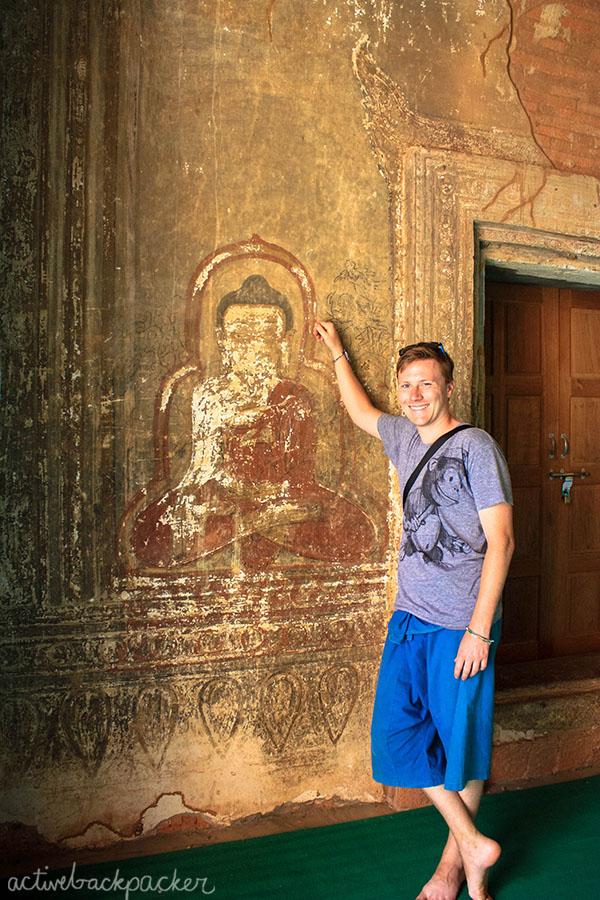 Tom With Ancient Art Buddha