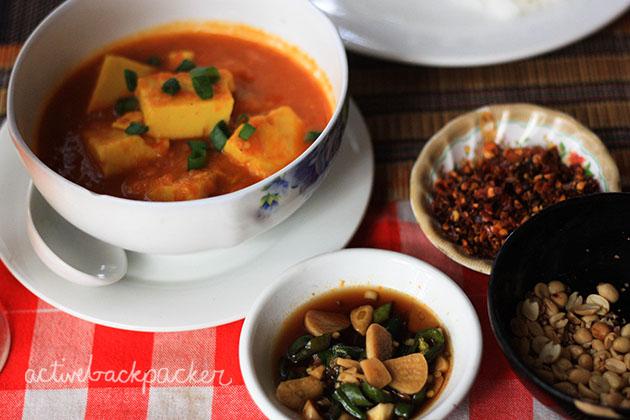 Tomato Tofu Curry In Bagan