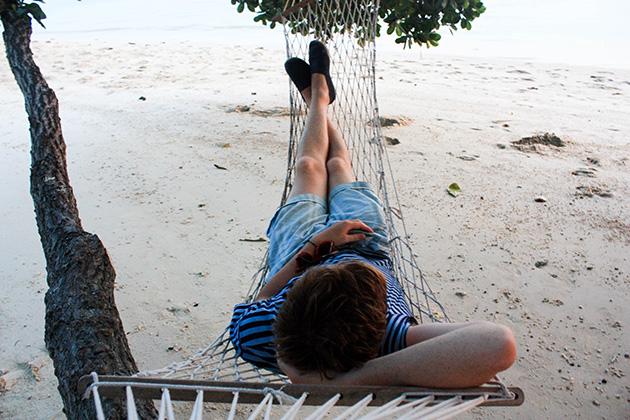 hammock in Thailand